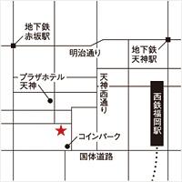 南壽あさ子 × アリオト 弾き唄いワンマン tour2014『七つ星』福岡会場マップ