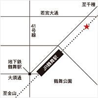 南壽あさ子 × アリオト 弾き唄いワンマン tour2014『七つ星』名古屋会場マップ
