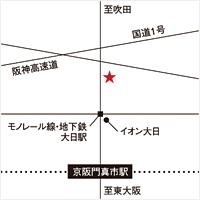 南壽あさ子 × アリオト 弾き唄いワンマン tour2014『七つ星』大阪会場マップ
