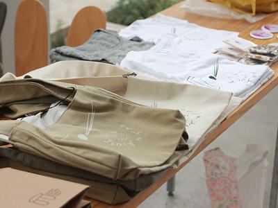 アリオト10 物販(サコッシュ、Tシャツ)