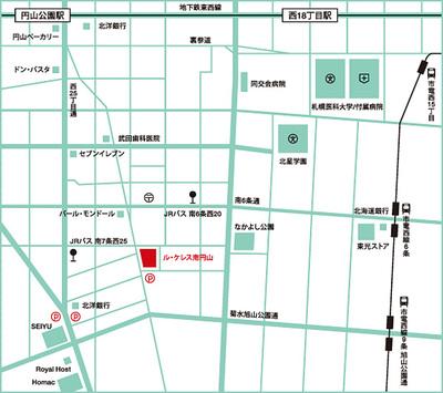 アリオト vol.11 ル・ケレス南円山ミュージアムホール 地図